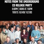 JAZZ+UNDERGROUND%3A+Notes+from+the+Underground+CD+Release+Party